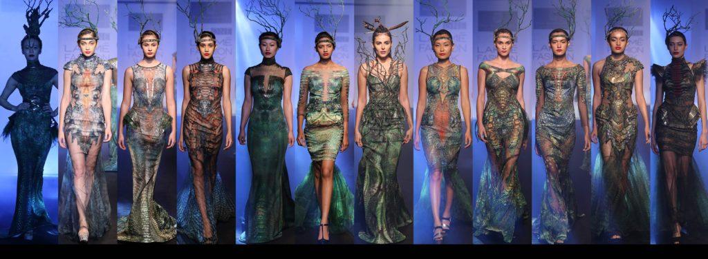 Lakme Fashion-Week-2016 by Asa Kazingmei new collection