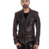 Slim Fit Olive Green Designer Jacket